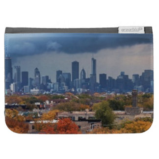 USA, Illinois, Chicago, cityscape Case For Kindle