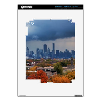 USA, Illinois, Chicago, cityscape Decal For iPad 3