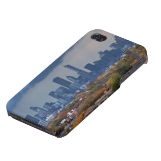 USA, Illinois, Chicago, cityscape iPhone 4 Cases