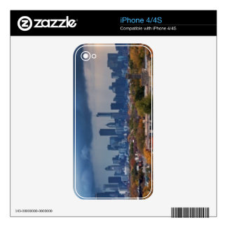 USA, Illinois, Chicago, cityscape iPhone 4 Skins