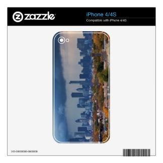 USA, Illinois, Chicago, cityscape iPhone 4 Skins