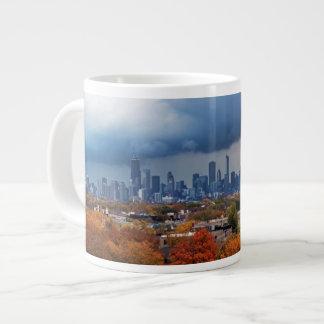 USA, Illinois, Chicago, cityscape Large Coffee Mug
