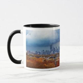 USA, Illinois, Chicago, cityscape Mug