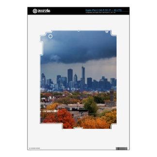 USA, Illinois, Chicago, cityscape Skin For iPad 3