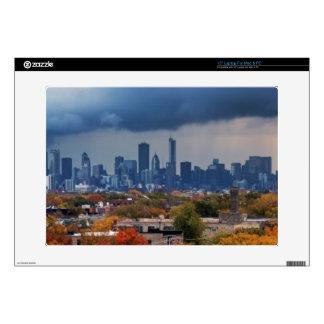USA, Illinois, Chicago, cityscape Skins For Laptops