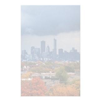 USA, Illinois, Chicago, cityscape Stationery
