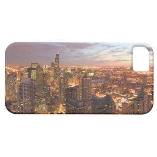 USA, Illinois, Chicago: Evening View of The Loop iPhone SE/5/5s Case