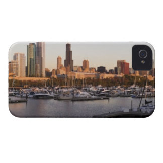 USA, Illinois, Chicago harbor and skyline Case-Mate iPhone 4 Case