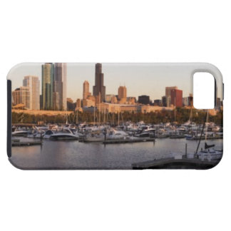 USA, Illinois, Chicago harbor and skyline iPhone SE/5/5s Case
