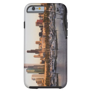 USA, Illinois, Chicago harbor and skyline Tough iPhone 6 Case