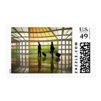 USA, Illinois, Chicago: O'Hare International Stamp