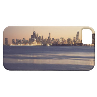 USA, Illinois, Chicago, Skyline at sunset iPhone 5 Covers