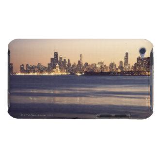USA, Illinois, Chicago, Skyline at sunset iPod Touch Case