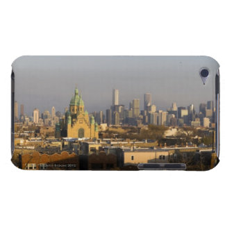 USA, Illinois, Chicago skyline Barely There iPod Case