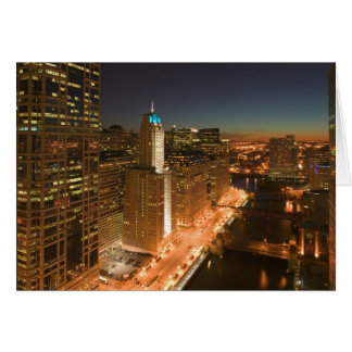 USA, Illinois, Chicago: The Loop: Buildings Card