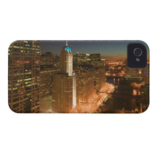 USA, Illinois, Chicago: The Loop: Buildings iPhone 4 Case