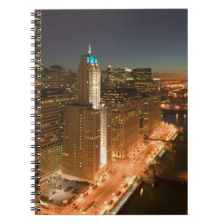 USA Illinois Chicago The Loop Buildings Notebook
