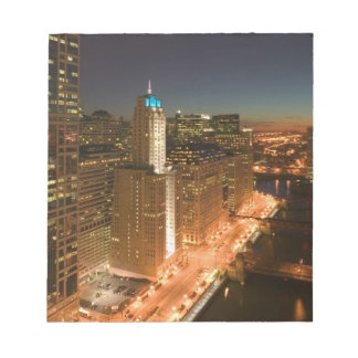 USA, Illinois, Chicago: The Loop: Buildings Notepad