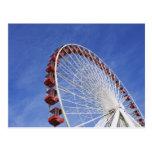USA, Illinois, Chicago. View of Ferris wheel Postcard