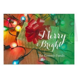 USA, Illinois, Metamora, Christmas gift Card