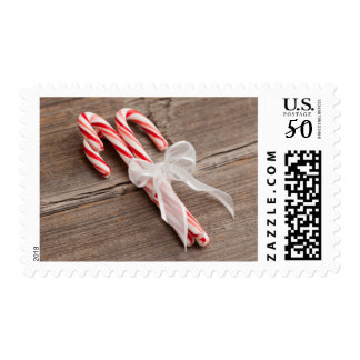 USA, Illinois, Metamora, Peppermint candy canes Postage