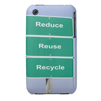 USA, Illinois, Metamora, Road signs reading iPhone 3 Covers