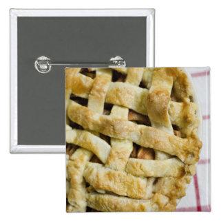 USA, Illinois, Washington, Apple pie Button