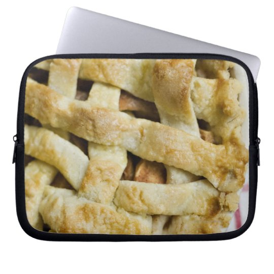 USA, Illinois, Washington, Apple pie Computer Sleeve