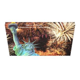 USA Image for wrapped-canvas Canvas Print