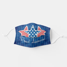 USA Independence 4th of July Proud American Cloth Face Mask