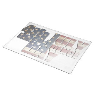 USA/Independence Day Cloth Placemat
