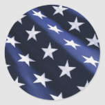 Usa Independence day flag Stickers