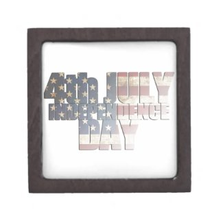 July 4th Independence Day Jewelry Box