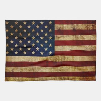 July 4th Independence Day Kitchen Towel