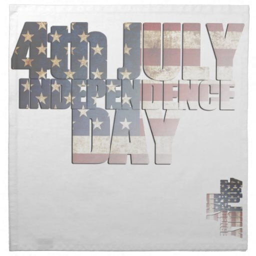 USA/Independence Day Cloth Napkins