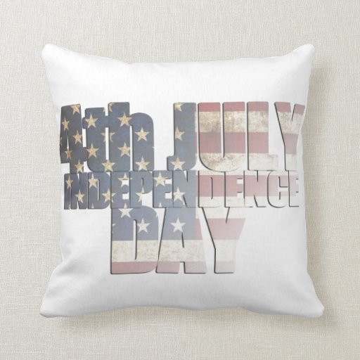 USA/Independence Day Pillow