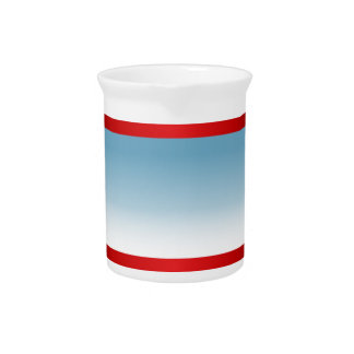 USA Independence Day Stars and Stripes Background Beverage Pitchers