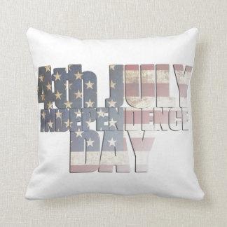 USA/Independence Day Throw Pillow