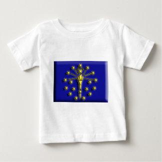 USA: Indiana (artist flag) Baby T-Shirt