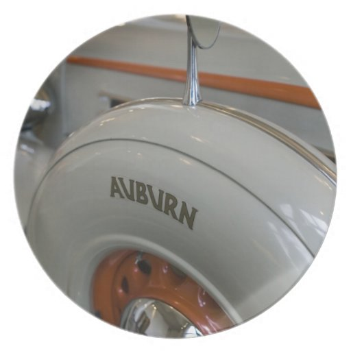USA, Indiana, Auburn: Auburn, Cord, Duesenberg 13 Dinner Plate