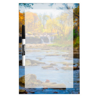 USA, Indiana. Cataract Falls State Recreation Dry Erase Board