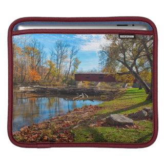 USA, Indiana, Cataract Falls State Recreation iPad Sleeve