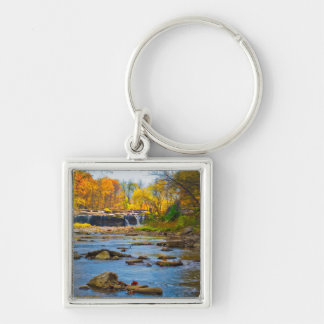 USA, Indiana. Cataract Falls State Recreation Keychain