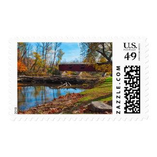 USA, Indiana, Cataract Falls State Recreation Postage