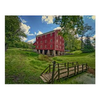 USA, Indiana, Cutler. Adams Mill Postcard