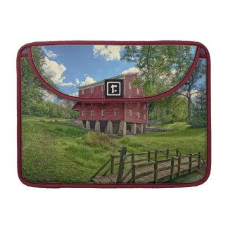 USA, Indiana, Cutler. Adams Mill Sleeve For MacBook Pro