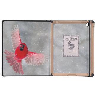 USA, Indiana, Indianapolis. A male cardinal iPad Covers
