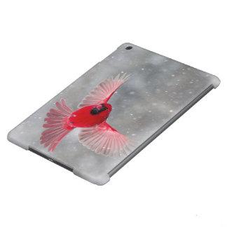 USA, Indiana, Indianapolis. A male cardinal Case For iPad Air