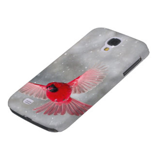 USA, Indiana, Indianapolis. A male cardinal Samsung Galaxy S4 Cover