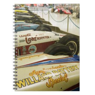 USA, Indiana, Indianapolis: Indianapolis Motor 3 Notebook